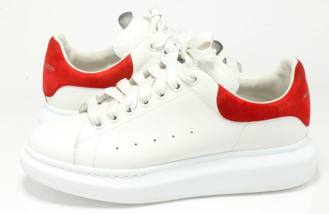 Alexander McQueen White/Red Oversized Sneakers Shoes Alexander McQueen White/Red Oversized Sneakers Shoes Image 2