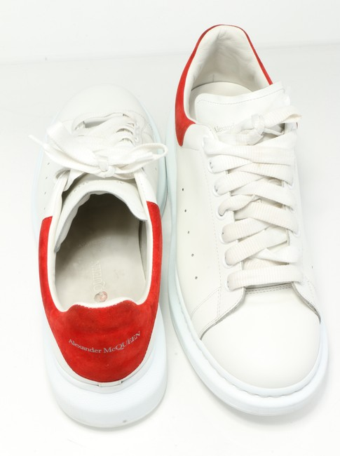 Alexander McQueen White/Red Oversized Sneakers Shoes Alexander McQueen White/Red Oversized Sneakers Shoes Image 4