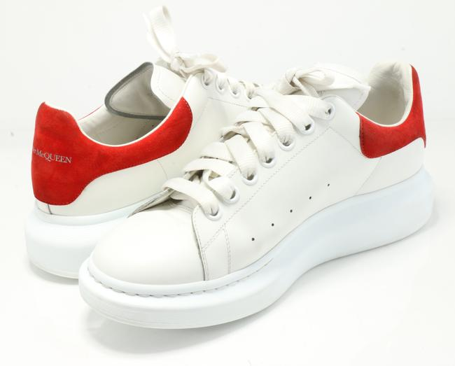 Alexander McQueen White/Red Oversized Sneakers Shoes Alexander McQueen White/Red Oversized Sneakers Shoes Image 5