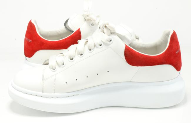 Alexander McQueen White/Red Oversized Sneakers Shoes Alexander McQueen White/Red Oversized Sneakers Shoes Image 6