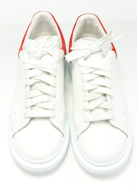 Alexander McQueen White/Red Oversized Sneakers Shoes Alexander McQueen White/Red Oversized Sneakers Shoes Image 7