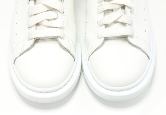 Alexander McQueen White/Red Oversized Sneakers Shoes Alexander McQueen White/Red Oversized Sneakers Shoes Image 8
