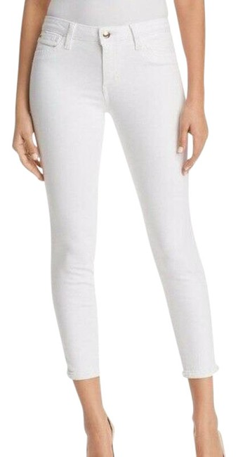 Item - White Light Wash The Icon Mid Rise Skinny Jeans Size 31 (6, M)