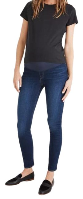 Item - Blue Over-the-belly Maternity Denim Size 29 (6, M)