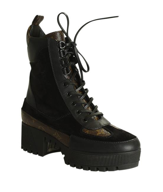 Item - Brownxblack 1a4xy5 Laureate Desert Suede Boots (198521) Sneakers Size EU 40 (Approx. US 10) Narrow (Aa, N)