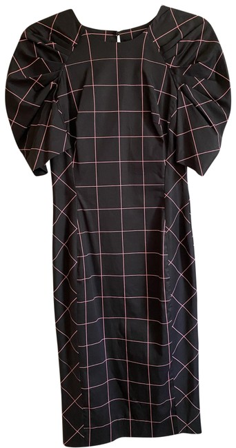 Item - Black Pink New Printed Msrp Short Casual Dress Size 4 (S)