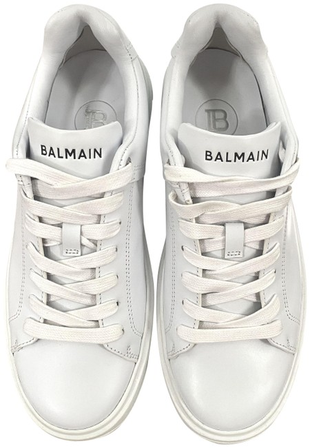 Item - White B Court Leather Sneakers Size EU 37 (Approx. US 7) Regular (M, B)