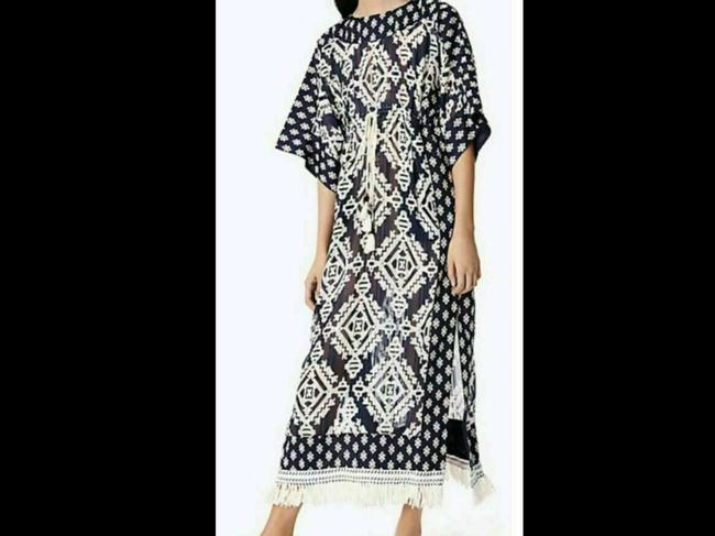 Item - Geometric Beatrice Tapestry Long Casual Maxi Dress Size 8 (M)