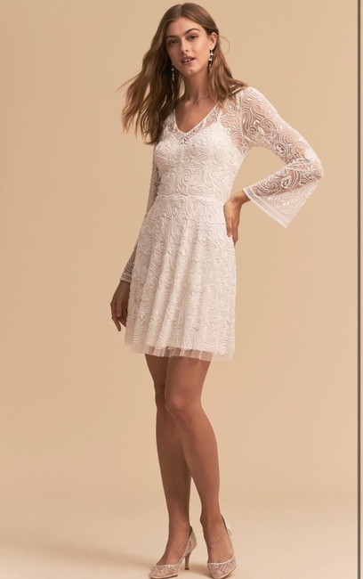 Item - White The Channing Casual Wedding Dress Size 6 (S)