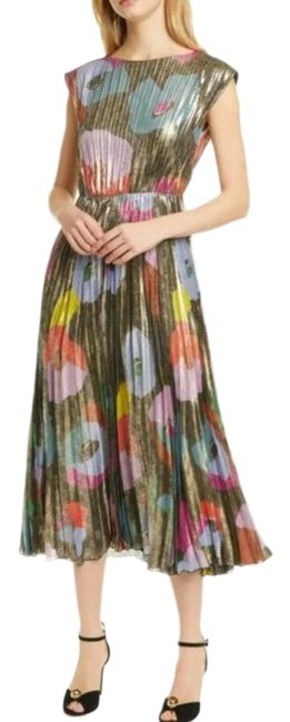 Item - Multicolor Mid-length Night Out Dress Size 6 (S)