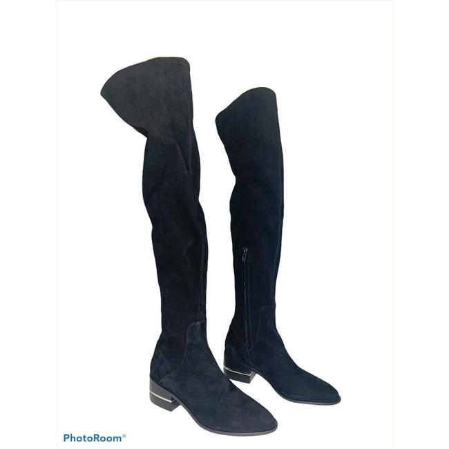 Item - Black Jacey Over The Knee Stretch New Boots/Booties Size US 9 Regular (M, B)