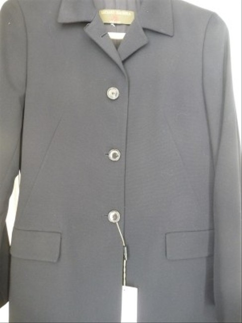 Luciano Barbera Luciano Barbera Classic Navy Skirt Suit