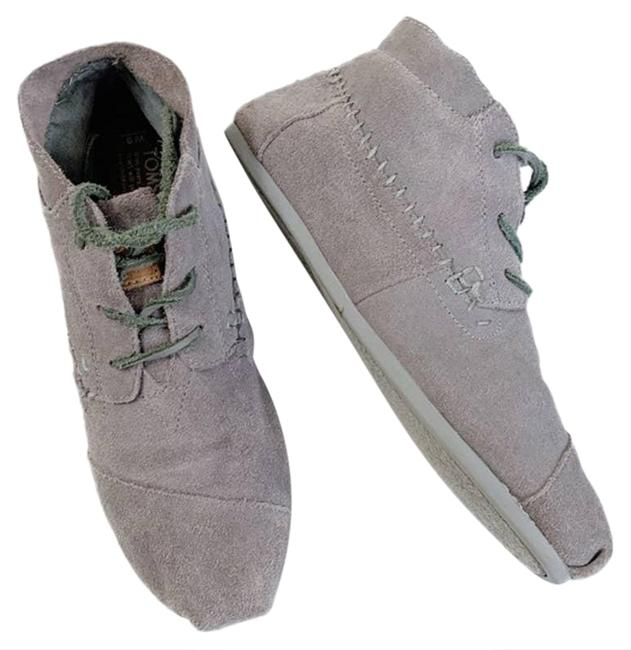 Item - Gray Moccasin Womens Boots/Booties Size US 7.5 Regular (M, B)