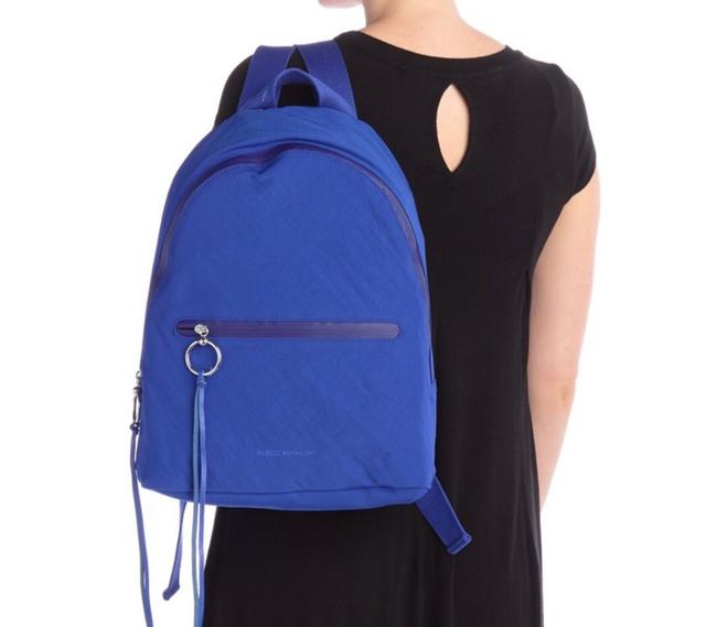Item - Nylon Dome Bright Blue Backpack