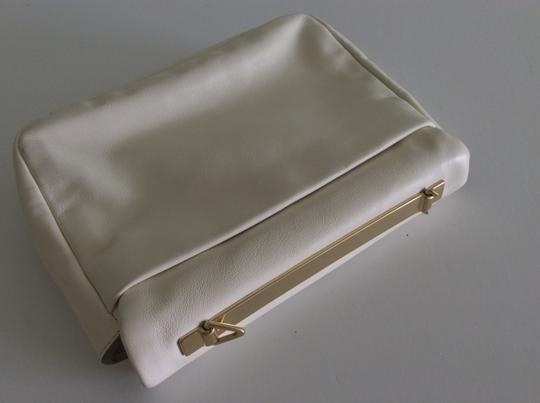 Marc Jacobs White Clutch