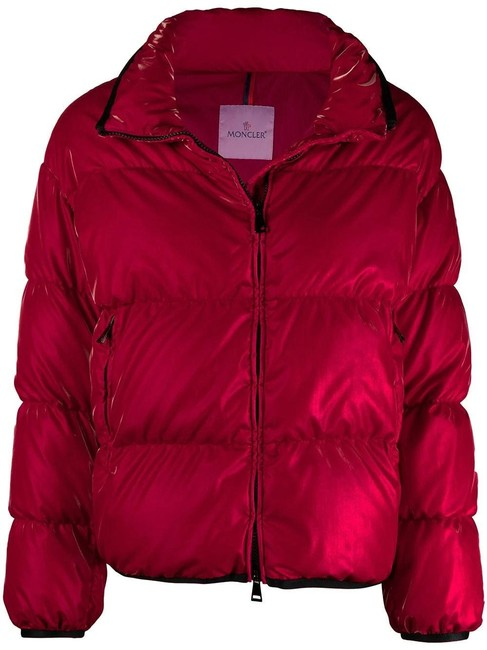 Item - Red Grenit Down Jacket Size 0 (XS)
