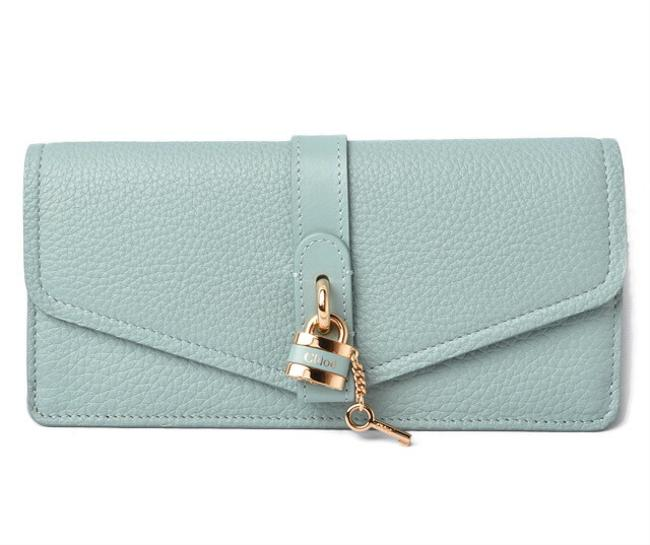 Item - Blue Chloé / Long Aby Abbey Faded Wallet