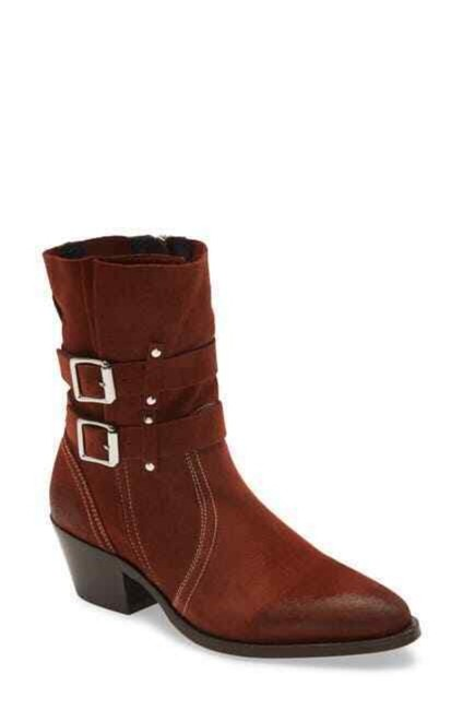 Item - Brown Harriet Suede Leather Ankle Boots/Booties Size EU 36 (Approx. US 6) Regular (M, B)