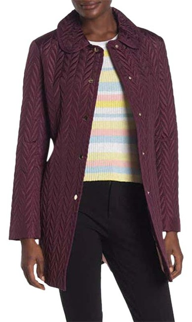 Item - Purple New York Quilted Snap Button Small Jacket Size 4 (S)