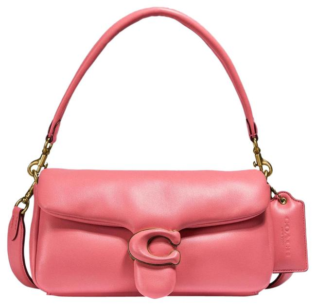 Item - Shoulder Pillow Tabby 26 Pink Nappa Leather and Smooth Leather Hobo Bag