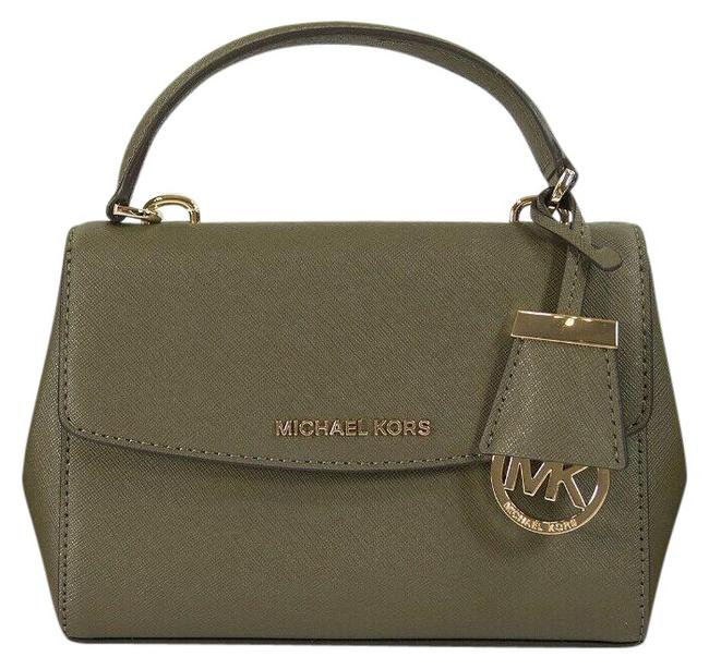 Item - XS Olive Ava Extra Small Green Leather Cross Body Bag