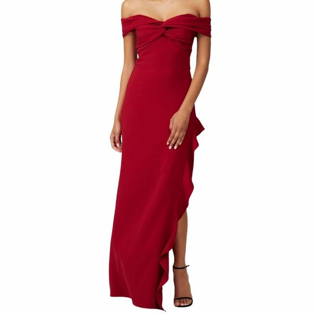 Item - Red Wells Gown Casual Maxi Dress Size 14 (L)