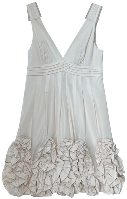 Item - Off White Short Cocktail Dress Size 2 (XS)