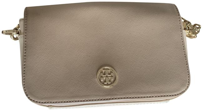 Item - With Gold Details Nude and Cream Cross Body Bag