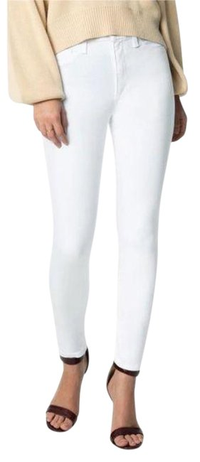 Item - White Light Wash The Charlie High Rise Skinny Jeans Size 30 (6, M)