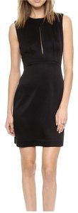 L'AGENCE short dress Black on Tradesy