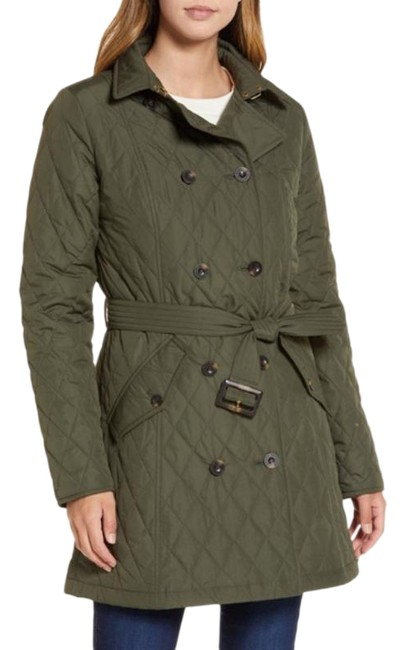 Item - Green Riversdale Quilted Coat Size 10 (M)