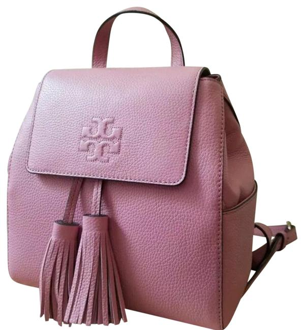 Item - Thea Mini Pink Leather Backpack