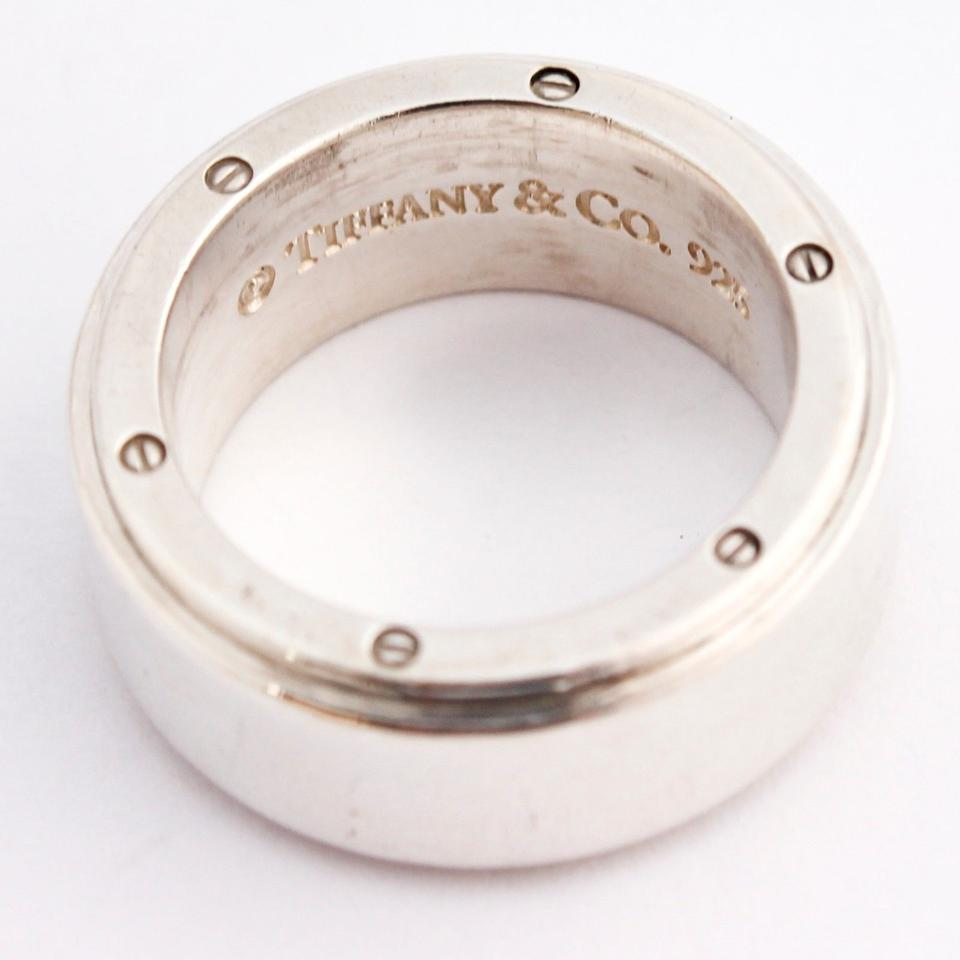 81b497864 Tiffany & Co. Silver Metropolis 9mm Band In 925 Sterling Size 7.5 ...