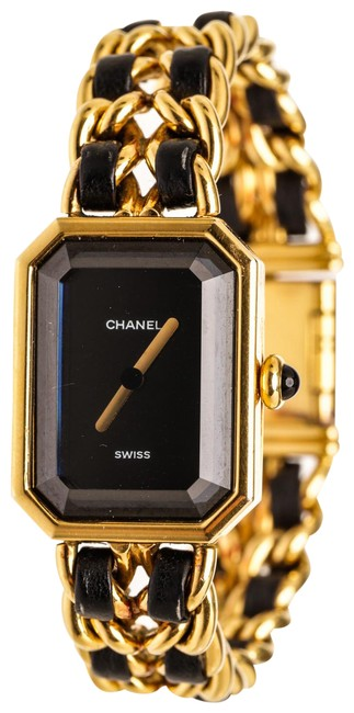 Item - Black & Gold Plated Premiere Rock 504925 Watch