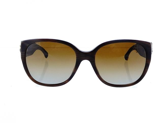 Item - Brown Ch 5237 C.617/T5 56mm Polarized Tweed Collection Sunglasses