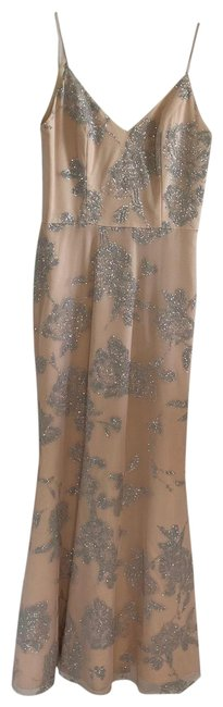 Item - Pink / Almond Occasions Style 5719 Long Formal Dress Size 2 (XS)