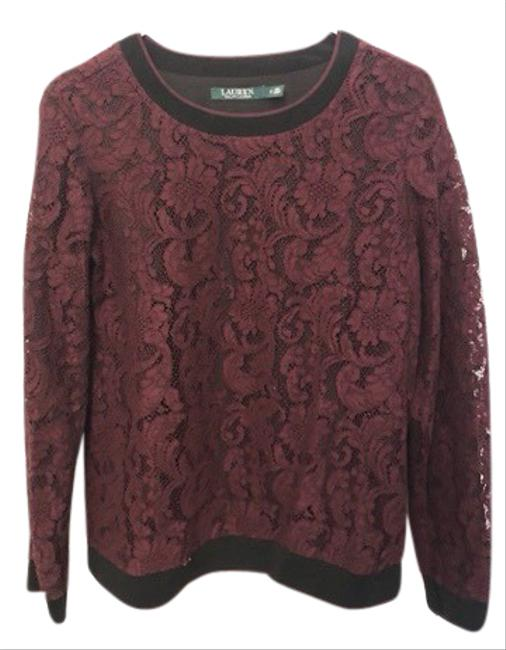 Item - Lace Maroon Sweater