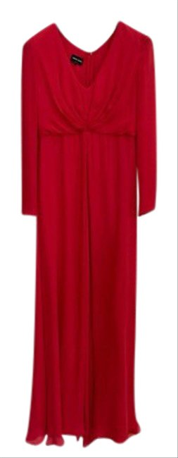 Item - Red Cocktail Long Casual Maxi Dress Size 10 (M)