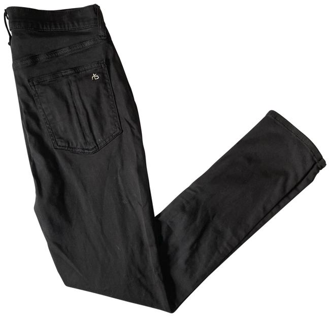 Item - Black High Rise Ankle Skinny Jeans Size 6 (S, 28)