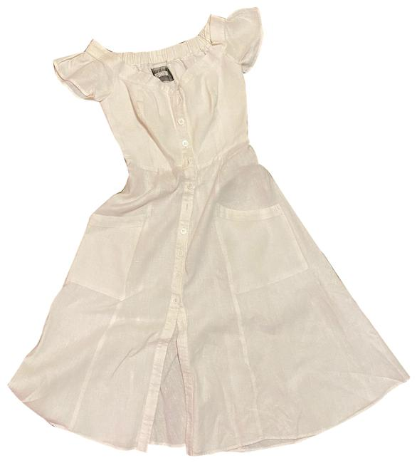 Item - White Mid-length Casual Maxi Dress Size 0 (XS)