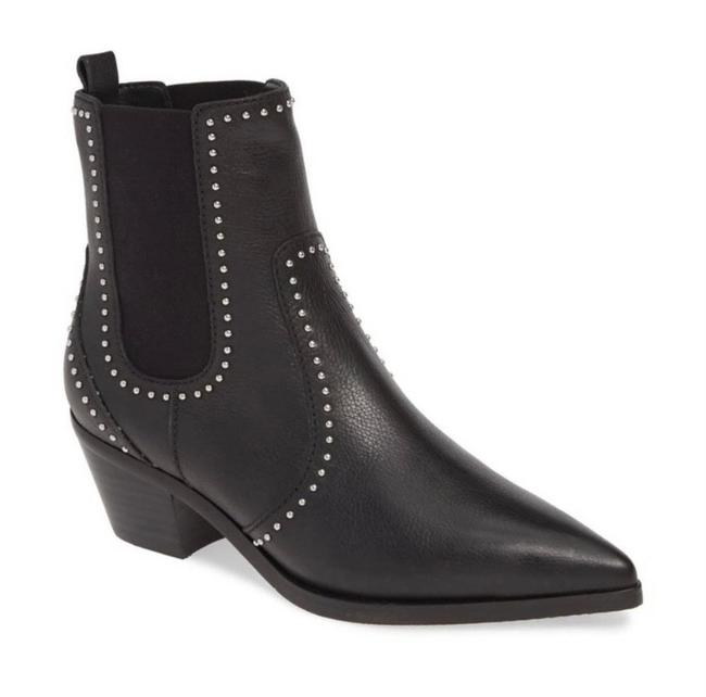 Item - Black Willa Studded Ankle Boots/Booties Size US 8.5 Regular (M, B)