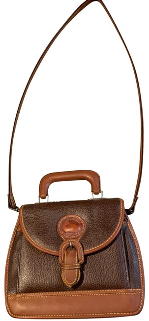 Item - And Brown Leather Cross Body Bag