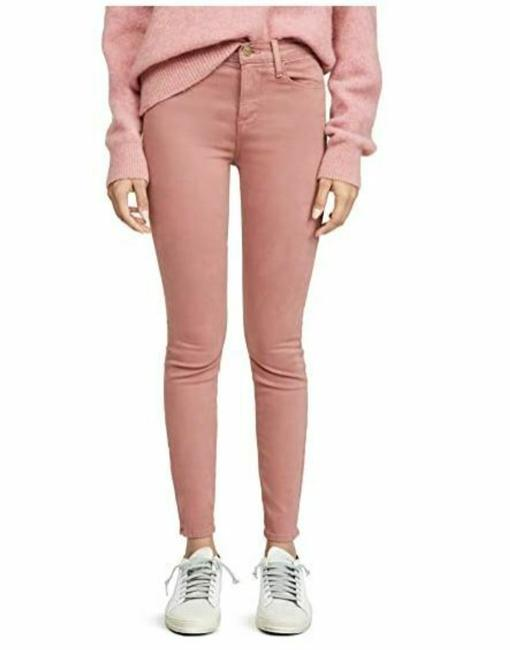 Item - Pink Medium Wash Le High Sateen Skinny Jeans Size 30 (6, M)