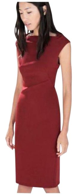 Item - Red Pencil Mid-length Work/Office Dress Size 4 (S)