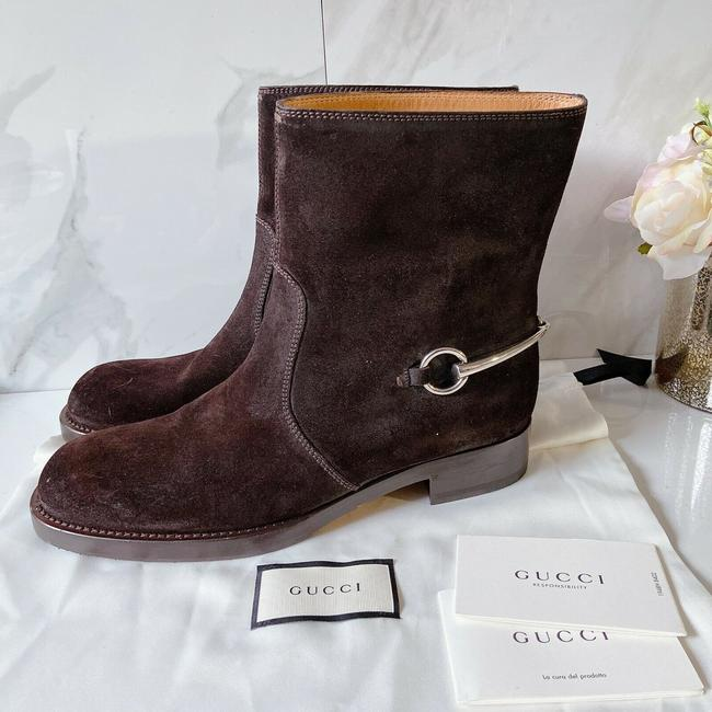 Item - Brown 354003 Labrador Cocoa Suede Boots/Booties Size US 11 Regular (M, B)