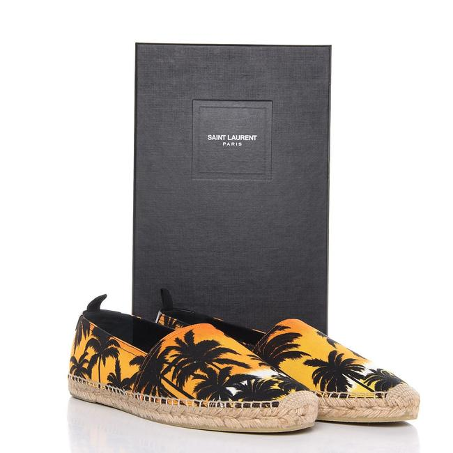 Item - Sunset Palm Trees At Espadrilles In Canvas Flats Size EU 40 (Approx. US 10) Regular (M, B)