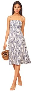 white blue Maxi Dress by Reformation