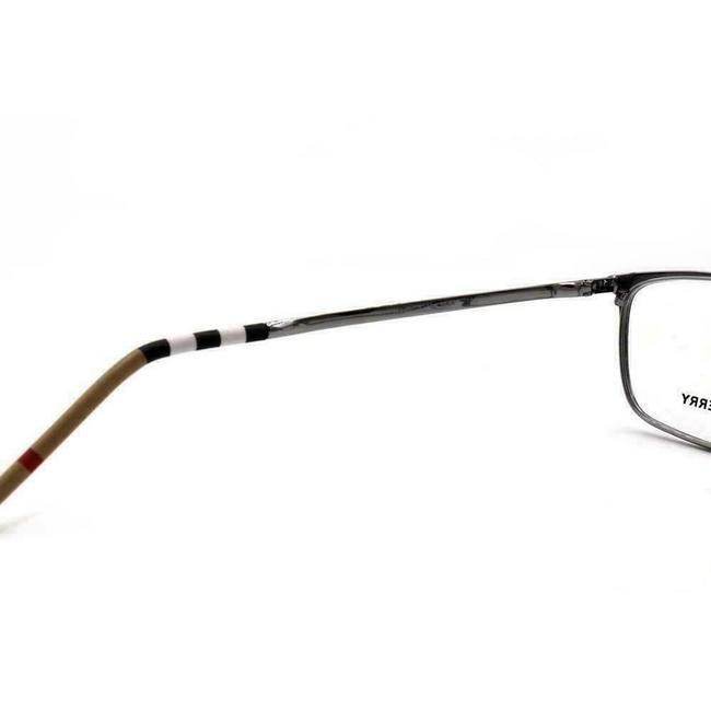 Burberry Black Silver Be 1329-d 1279 Rectangle Eyeglasses Demo Lenses 56mm Burberry Black Silver Be 1329-d 1279 Rectangle Eyeglasses Demo Lenses 56mm Image 4