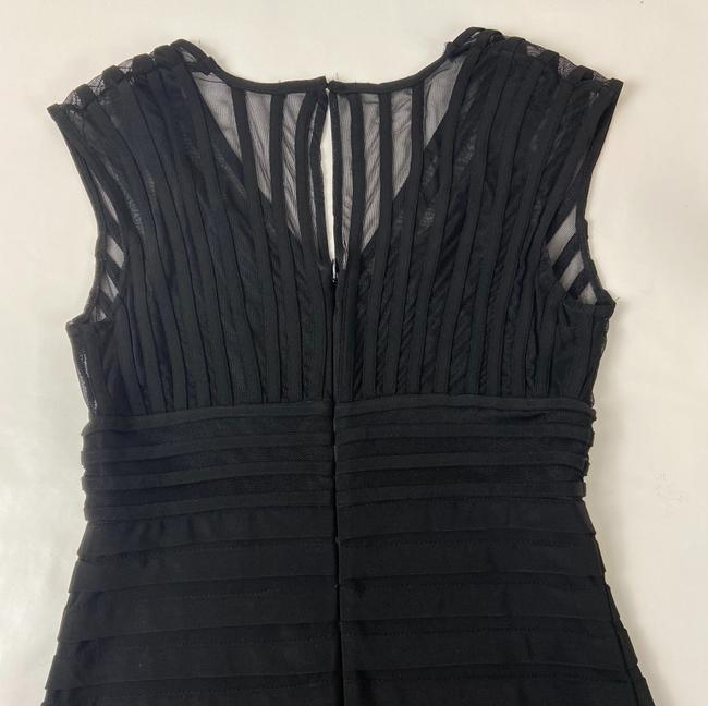 Adrianna Papell Black Short Cocktail Dress Size 4 (S) Adrianna Papell Black Short Cocktail Dress Size 4 (S) Image 6