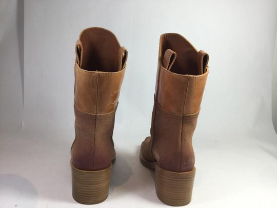 Chanel Light Suede Brown Boots